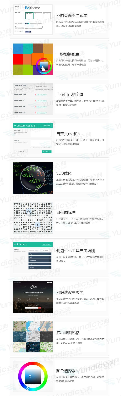 Betheme V21.9.2  中文汉化主题  600多套demo模板 极速响应 含密钥可自行导入数据-云典网