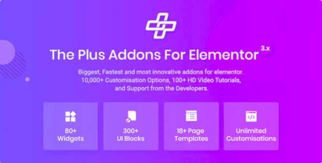 Plus v3.0.2 – Elementor Page Builder WordPress插件的插件-云典网