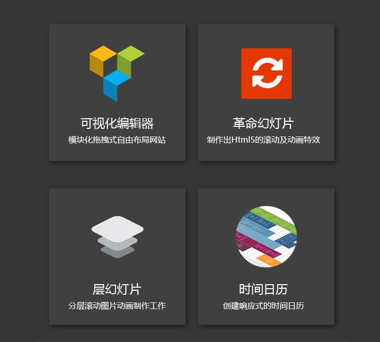 Bridge汉化主题 响应式拖拽编辑的html5响应式网站模板 wordpress主题插图(4)