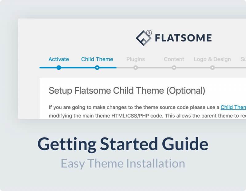 Flatsome V3.11.0 – 外贸商城 跨境电商网站模板 极速wordpress主题 含密钥-云典网
