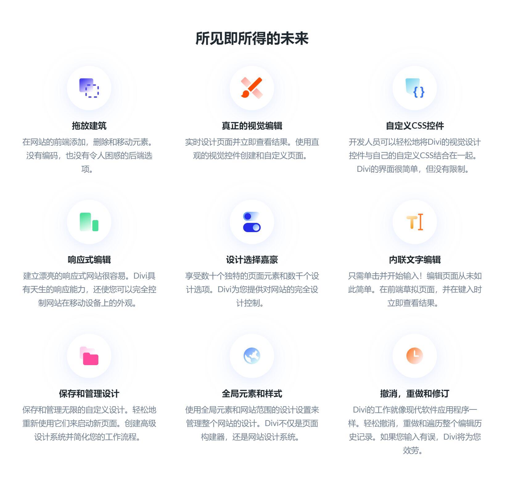 Divi 4.4.3 包含key密匙 WP主题企业中文模板自适应简约科技支持SEO-云典网