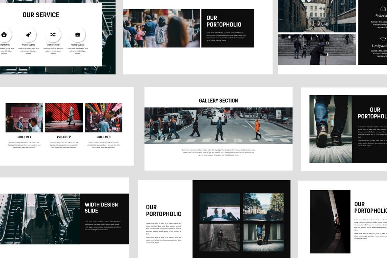WALK-PowerPoint-云典网