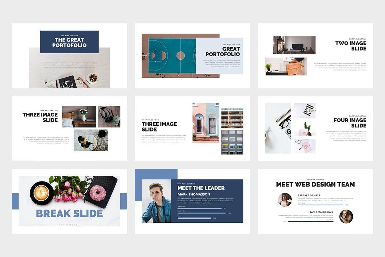 Flato:创意业务PowerPoint模板插图