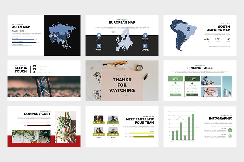 Flato:创意业务PowerPoint模板插图3