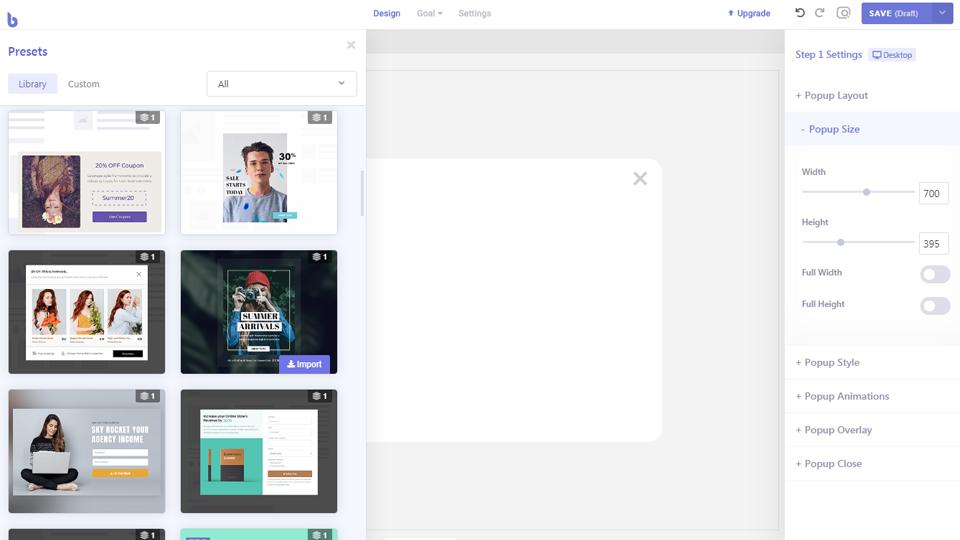 WordPress网站弹窗插件 可视化拖拽编辑的悬浮粘性窗口 网站公告 产品弹窗插件 Brave Builder Pro – v0.2.7-云典网